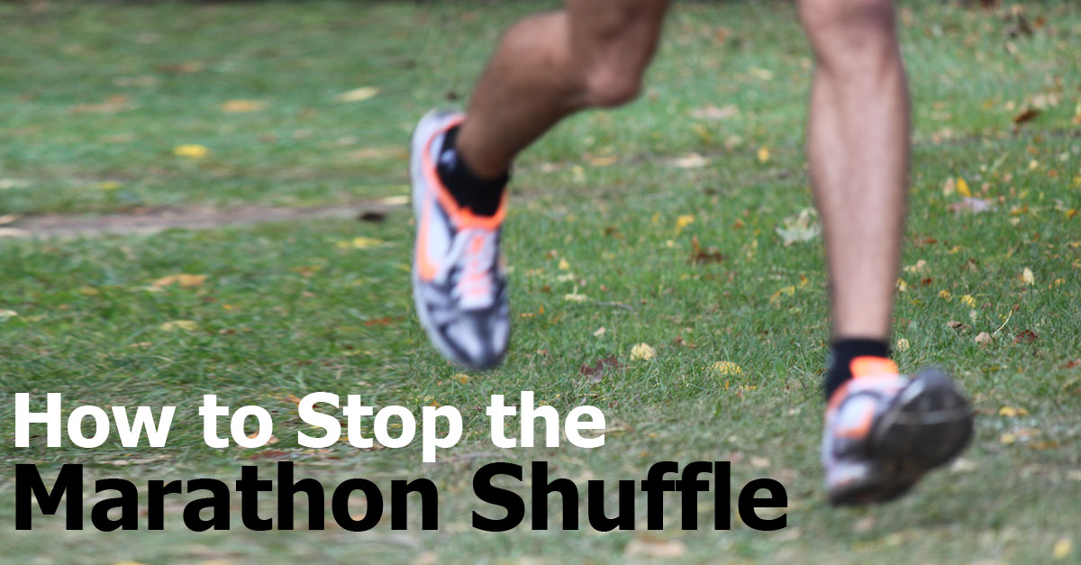 How To Improve Run Form Part 5 Marathon Shuffle