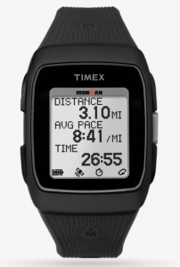 Image of gifts for runners Ironman Timex GPS
