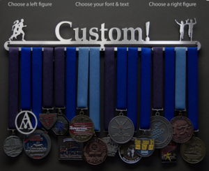 Image of gifts for runners custom medal