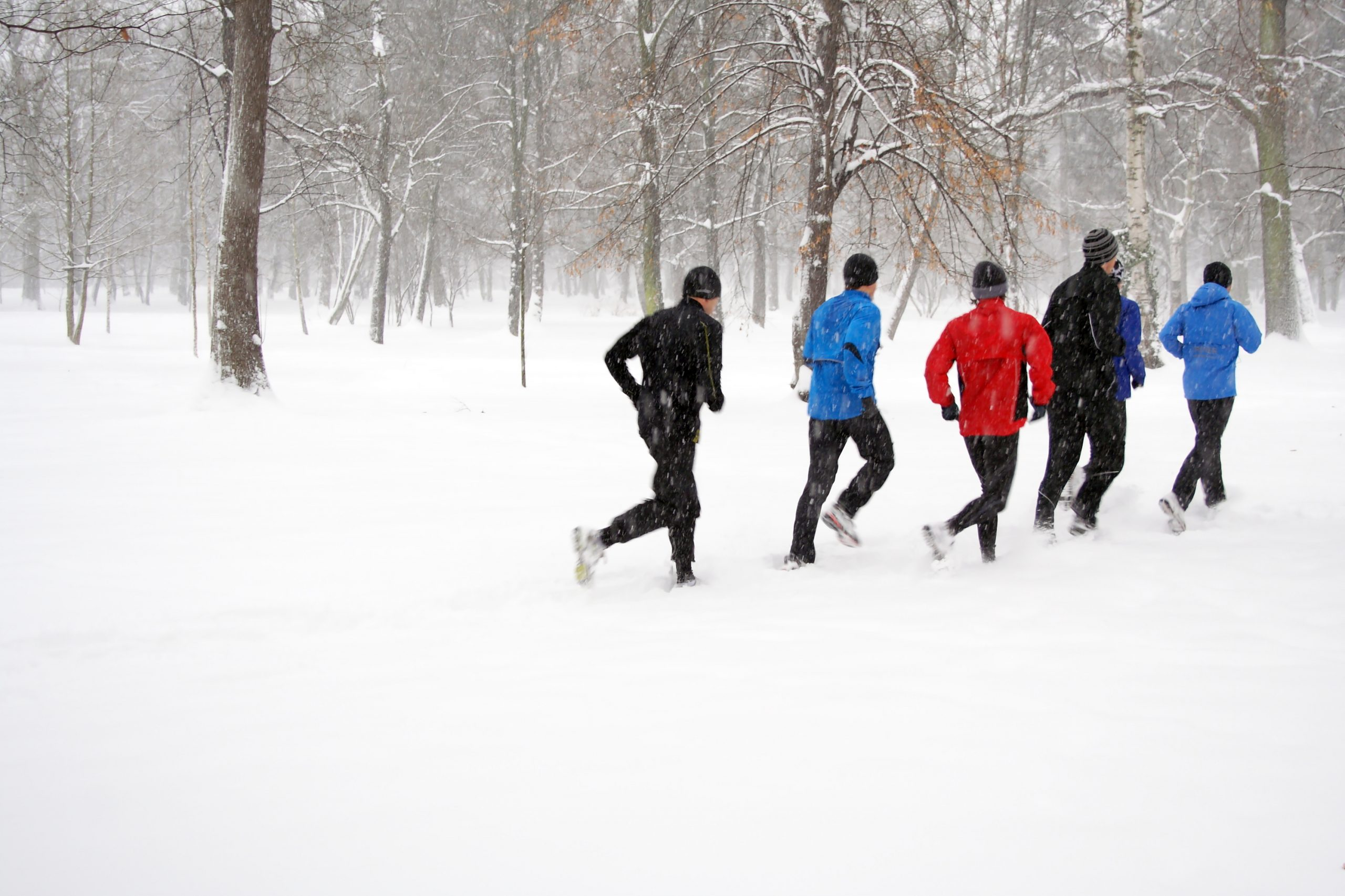 Image of run indoors outdoors