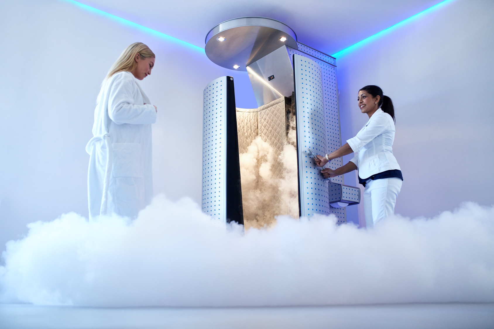 Image of cryotherapy runners