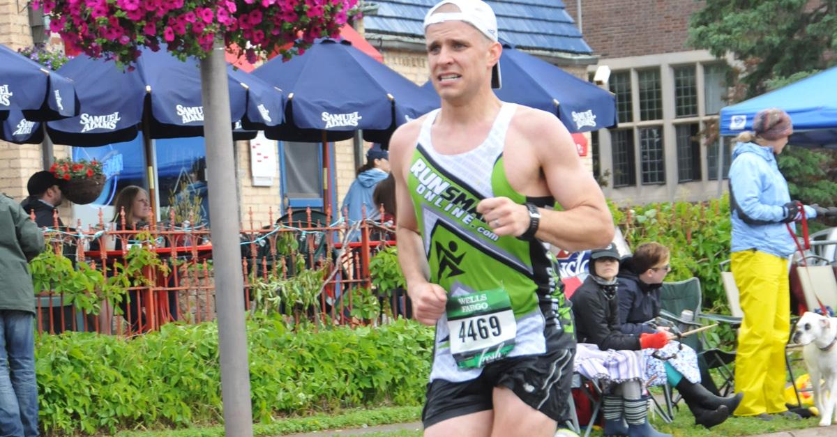 steve gonser running boston marathon