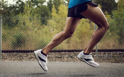 runner legs strong on pavement